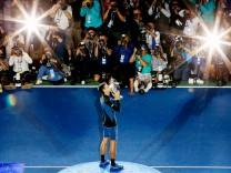 US Open: Nowak Djokovic 2018 nach dem Finalsieg gegen Juan Martin del Potro