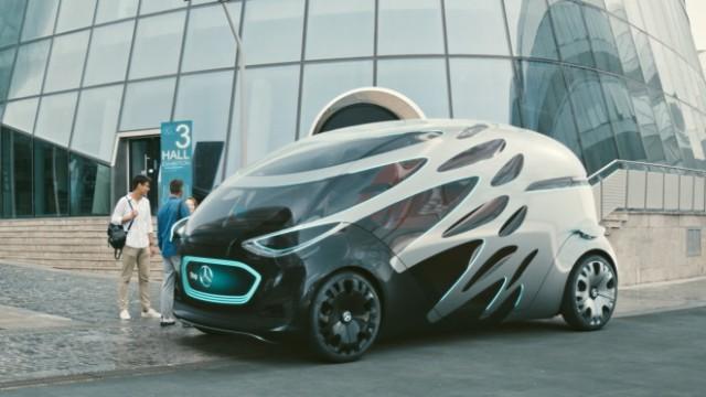 """Daimler: Design-Studie """"Vision Urbanetics"""" von Mercedes-Benz"""