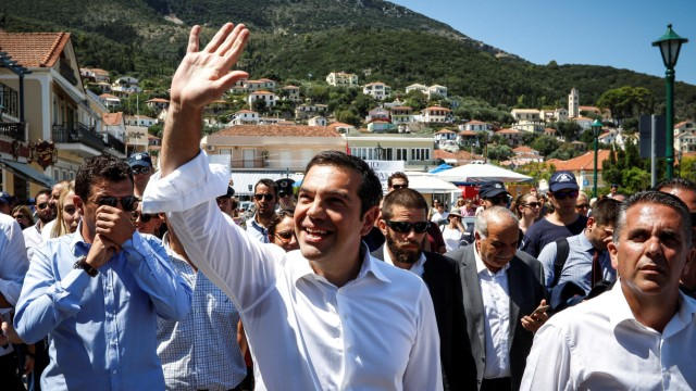 Griechenlands Premierminister Alexis Tsipras