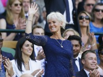 Judy Murray at Wimbledon