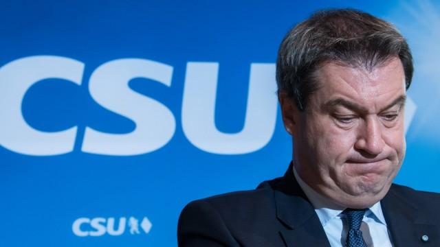 Sitzung CSU-Vorstand Markus Söder