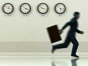 Mythos Zeitnot Stress Uhren, iStock