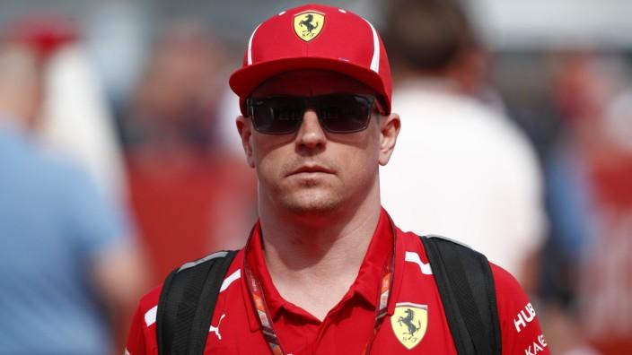 Ferrari-Pilot Kimi Räikkönen 2018 beim Großen Preis von Spanien