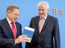 Hans-Georg Maaßen und Horst Seehofer