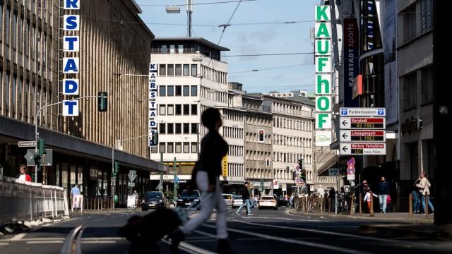 Karstadt und Galeria Kaufhof in Düsseldorf
