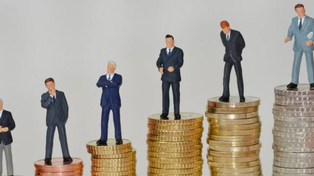 Centmuenzen Euromuenzen Miniaturfiguren Manager Centmuenzen Euromuenzen Miniaturfiguren Manager