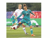 Faeroe Islands Women's v Germany Women's - 2019 FIFA Women's World Championship Qualifier; frauenfußball wm
