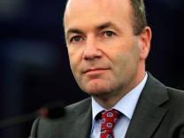 Manfred Weber, Fraktionsvorsitzender der EVP im EU-Parlament