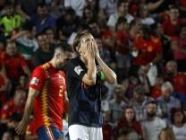 Luka Modric beim Nations-League-Spiel Spanien gegen Kroatien