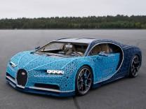 Der erste LEGO Technic Bugatti Chiron in Originalgröße