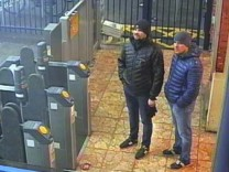 Fall Skripal: Tatverdächtige in Salisbury
