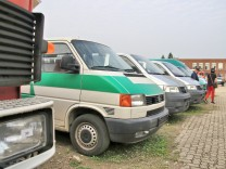 Auto-Auktion der Behörden in NRW Fotos: Steve Przybilla  Online-Rechte: Nein