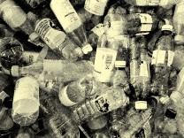Plastikmüll - Flaschen