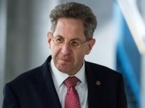 Hans-Georg Maaßen 2018 vor dem Parlamentarischem Kontrollgremium