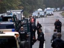 Polizeieinsatz im Hambacher Forst