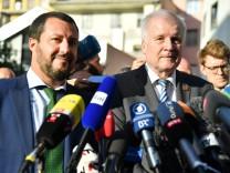 Matteo Salvini and Horst Seehofer