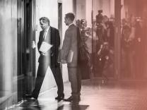 Hans-Georg Maaßen kommt zur Sitzung des Parlamentarischen Kontrollgremiums für die Geheimdienste im Deutschen Bundestag