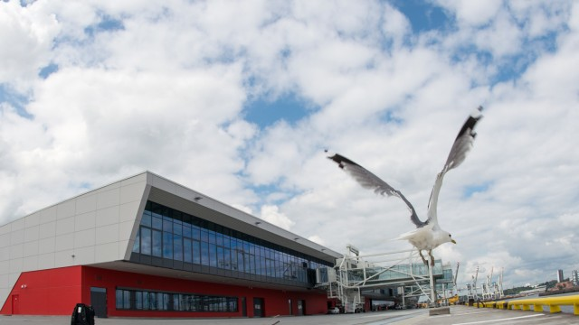 Eröffnung 3. Kreuzfahrtterminal in Hamburg