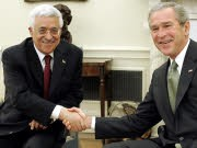 Mahmud Abbas George W. Bush, Reuters