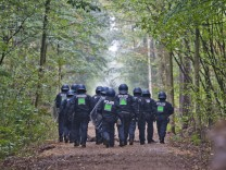 Police To Evict Protesters In Hambach Forest Coal Mine Standoff