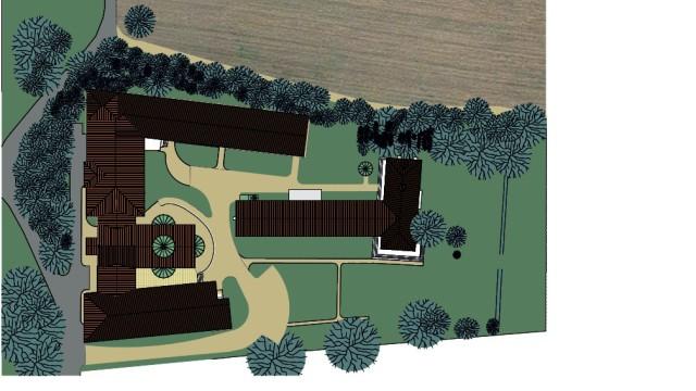 Kloster Obermenzing Erweiterungsplan Architektenentwurf Konrad Fischer