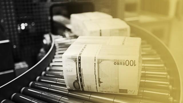Geldanlage und Finanzen Euro-Banknoten