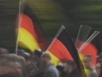 Prozess wegen Hitlergruï¬, bei Demonstration in Chemnitz
