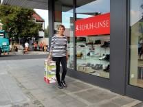 Schuhhändlerin Sabine Linse