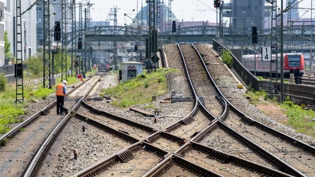 Sperrung auf Münchner Stammstrecke