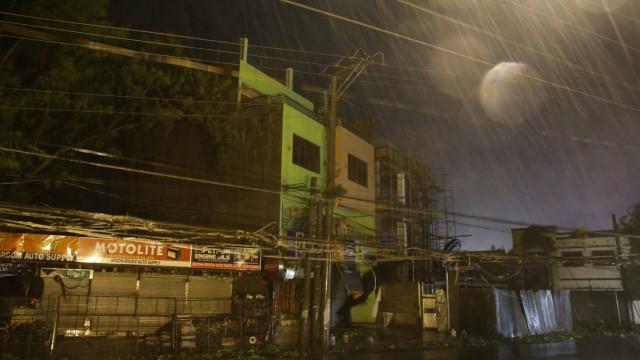 Naturkatastrophe Taifun