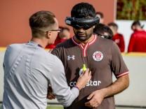 Blinden-Fußballer Serdal Celebi