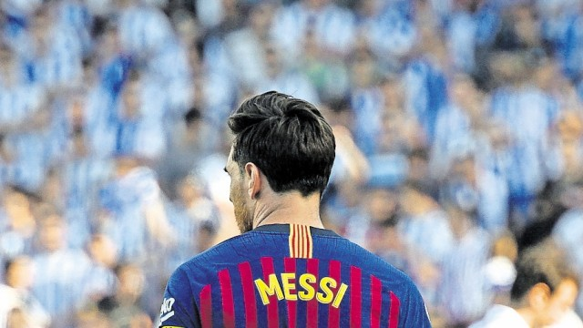 Luis Suarez; Lionel Messi