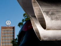 Auspuff eines Volkswagen