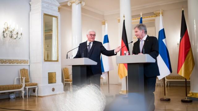Bundespräsident Steinmeier in Finnland