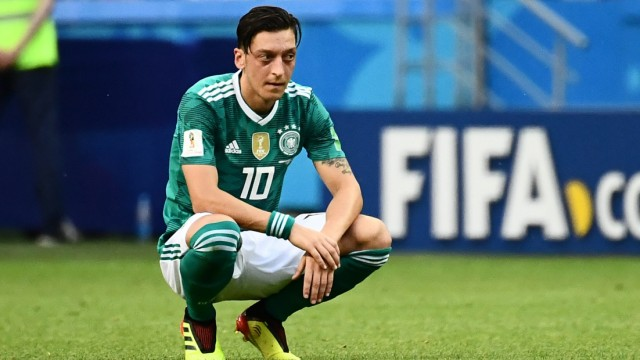 Mesut Özil beim WM-Spiel 2018 gegen Südkorea