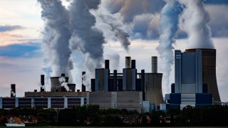 Das Kraftwerk Niederaußem von RWE