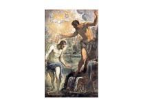 Tintoretto, Battesimo di Cristo, Chiesa di San Silvestro, Venezia