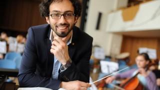Dirigent Fuad Ibrahimov in München, 2013