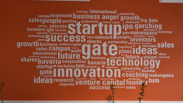 Wirtschaft Förderung von Start-ups