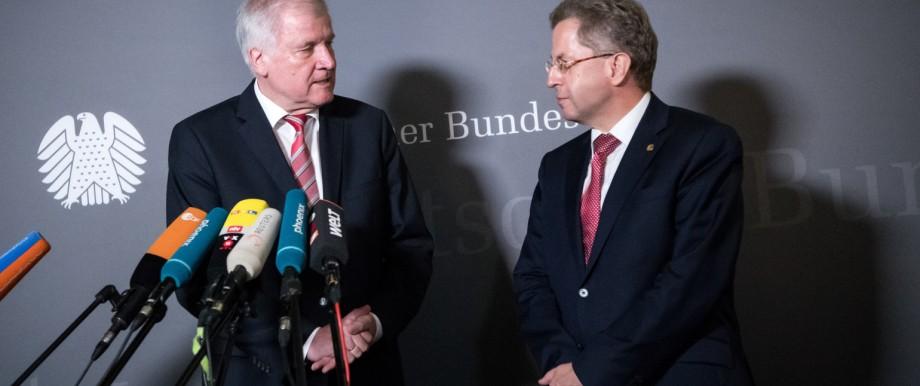 Horst Seehofer ernennt Hans-Georg Maaßen zum Staatssekretär im Innenministerium