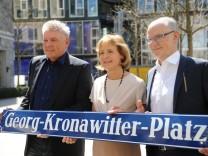Einweihung des Georg-Kronawitter-Platzes in München, 2018