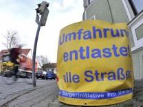 Starnberg Plakate für Umfahrung