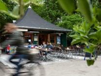 Kiosk Milchhäusl, Königinstraße 6, Englischer Garten