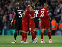 Champions League - Group Stage - Group C - Liverpool v Paris St Germain