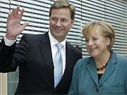 Westerwelle, Merkel, FDP, CDU, Koalitionsverhandlungen AP
