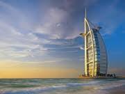 Emirat Dubai Hotel Burj Al Arab, dpa