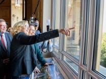 SPD-Chefin Andrea Nahles mit Natascha Kohnen 2018 im Bayerischen Landtag