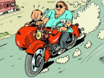 Comics über Gérard Depardieu von Mathieu Sapin Credit: Editions Dargaud