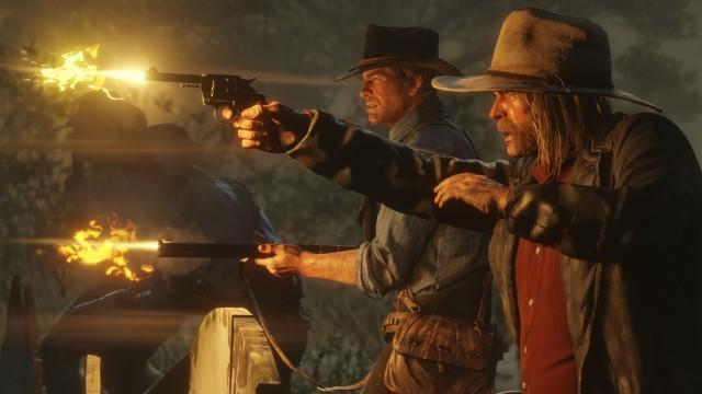 Szene aus Red Dead Redemption 2