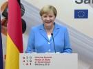"""""""Was ist denn technisch hier los?"""" - Merkel spricht Machtwort bei Pressekonferenz (Vorschaubild)"""